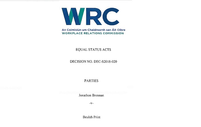 WRC - JUDGEMENT ON BEULAH PRINT